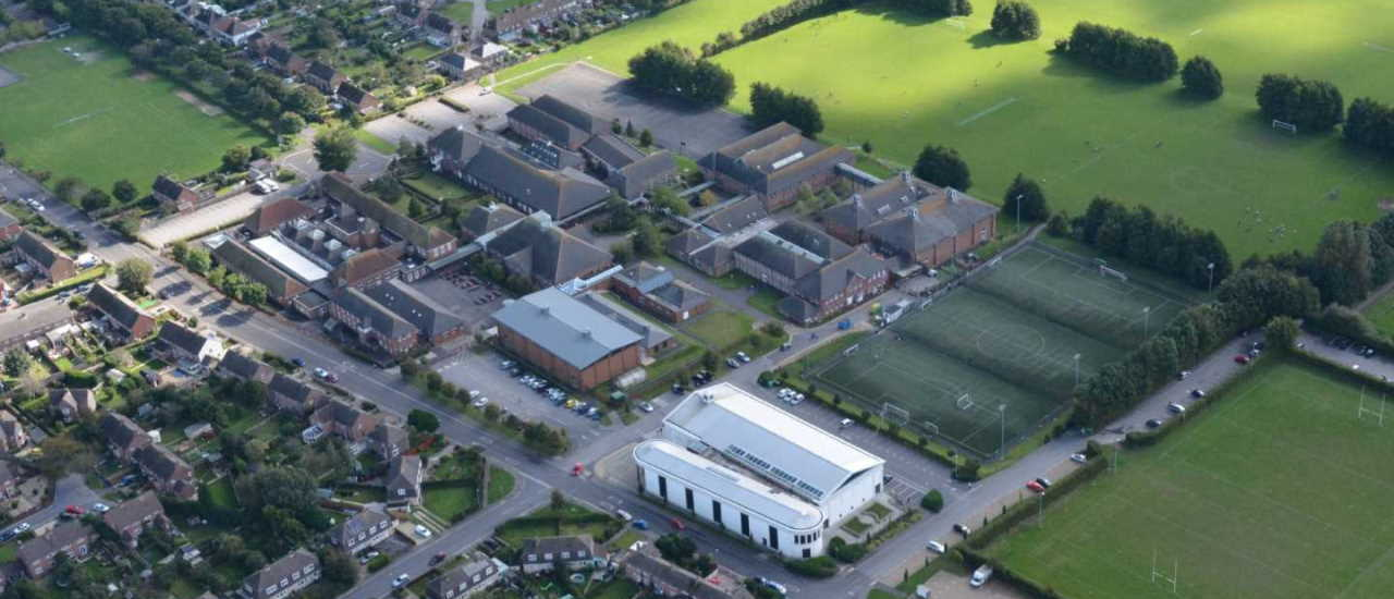 Thomas Hardye School Aerial Photo